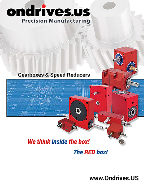 Gearboxes and speed reducers brochure