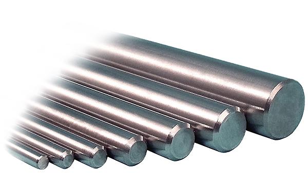 2 Units of 12L14 Steel Shaft Rod Undersized 1//32 Diameter x 4.0 Length